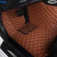 Tane leather car floor mats For land rover Range Rover Sport defender discovery 3 4 freelander 2 evoque accessories carpet rug