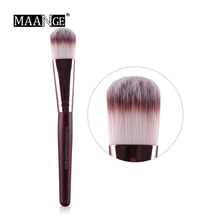 448baeadd55 MAANGE 1 pcs Makeup Brush set Mask Painting Foundation Flat Top Brushes For  Face. US  1.78   piece Free Shipping