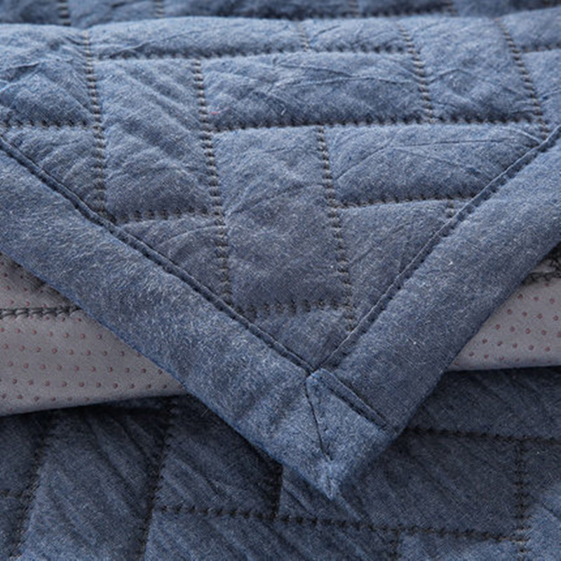 Solid color Nordic sofa cushion cotton non slip four seasons sofa cushion in Cushion from Home Garden