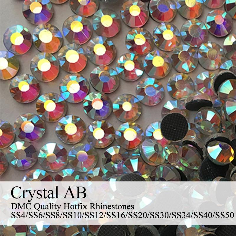 Detail Feedback Questions about Polaris SS6 SS50 Machine Cut Crystal AB  Strass DMC Hotfix Rhinestones For Garment Accessories on Aliexpress.com  566438a32f86