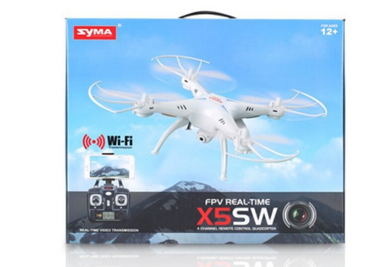 SYMA X5SW WIFI RC Drone fpv Quadcopter with Camera Headless 2.4G 6-Axis Real Time RC Helicopter Quad copter Toys