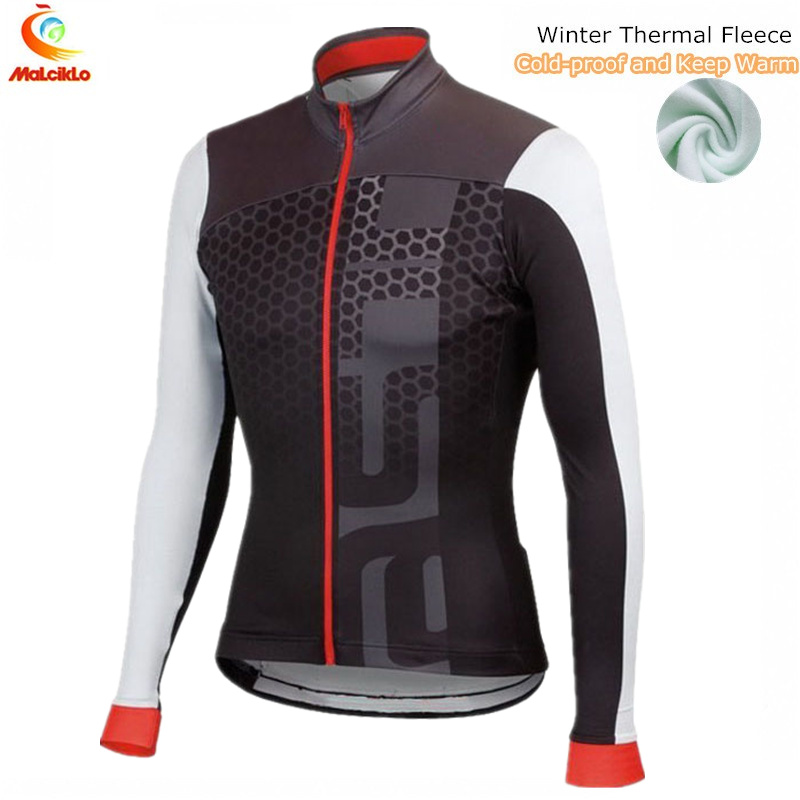Cycling Jersey Bike-Wear Long-Sleeve Maillot Winter Ropa-Ciclismo Men Invierno Men's