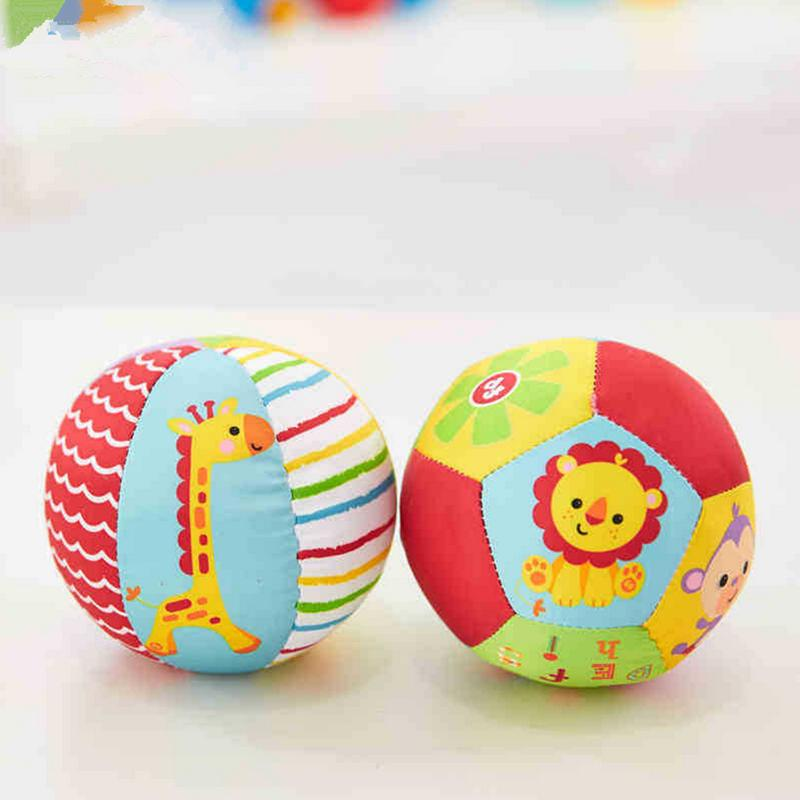 Squishy Baby Ball : Baby Toys Animal Ball Soft Stuffed Toy Balls Baby Rattles Infant Babies Body Building Ball-in ...