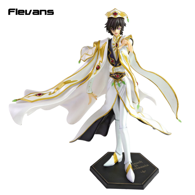 Anime Code Geass R2 Lelouch Lamperouge Britannia Knight of Zero Emperor Ver. PVC Figure Collectible Model Toy 27cm patriot gp 7210ae
