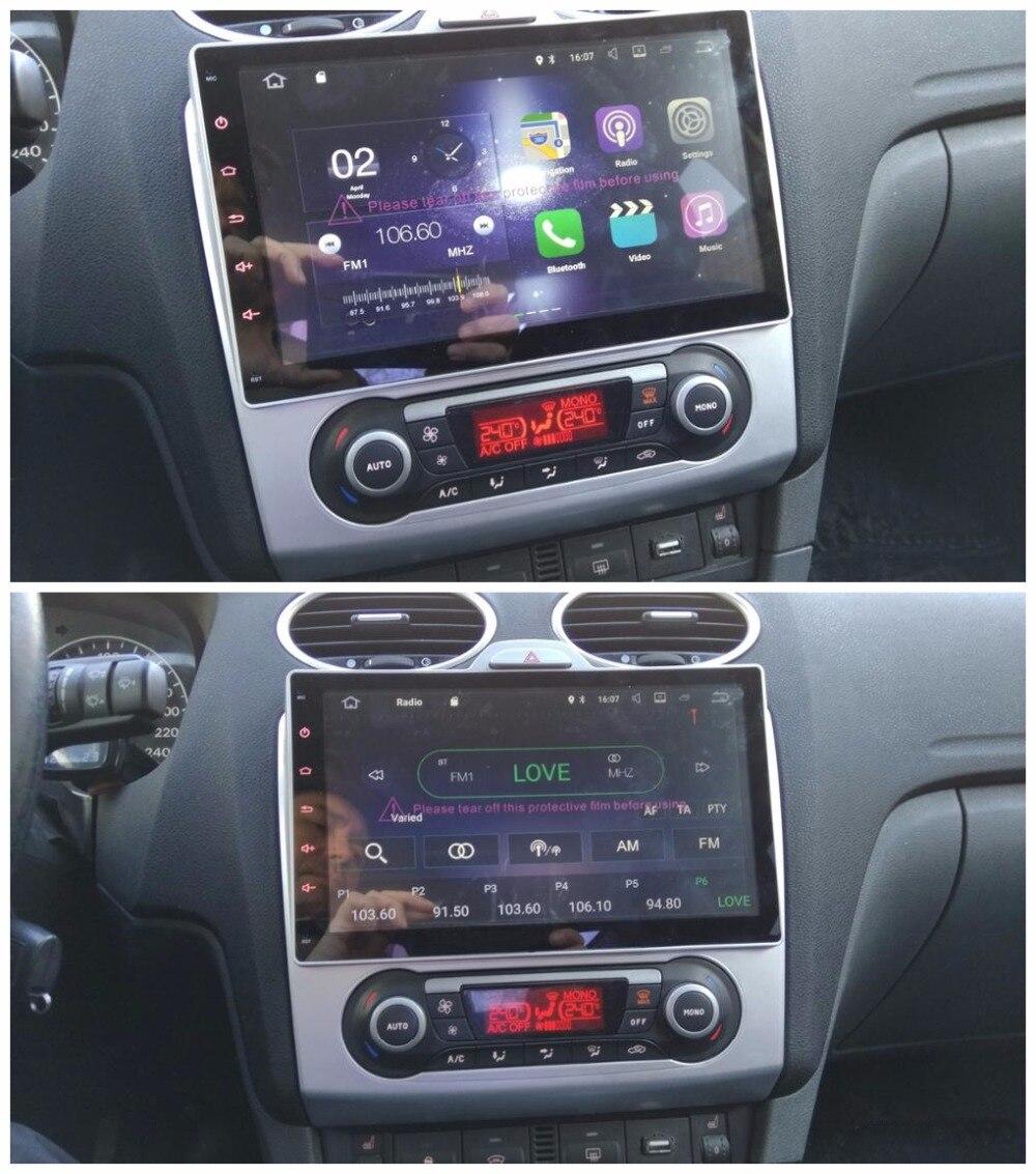 4 ядра 2 din 10,1 Android 7,1 автомобиль DVD плеер для Ford Focus на 2007 2011 с 2 ГБ оперативная память радио gps 4 г WI FI Bluetooth 16 ГБ Встроенная память