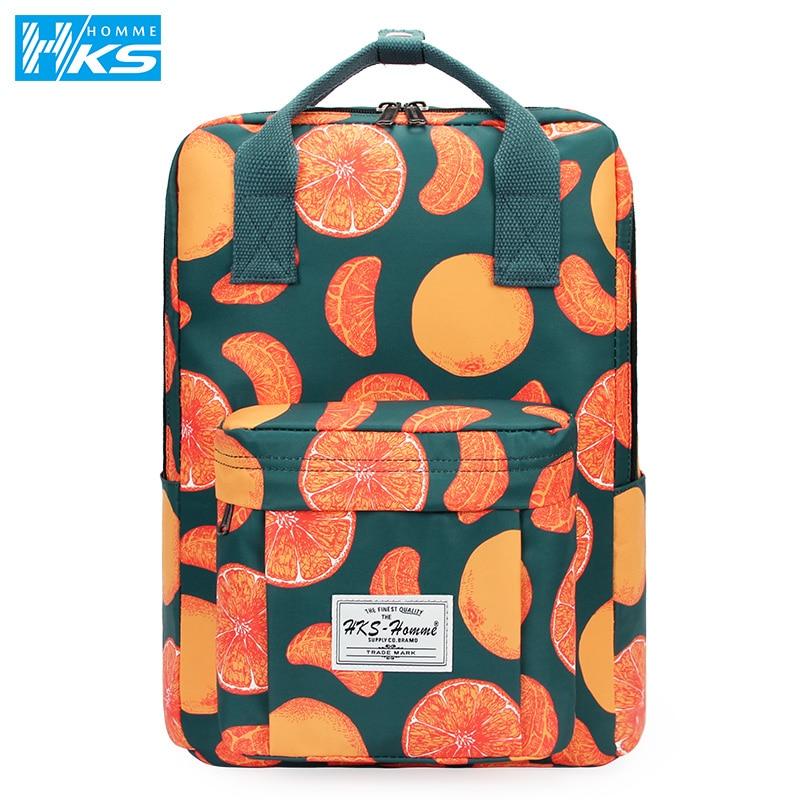 Fashion Women Backpack for School Teenagers Girls Stylish School Bag Ladies Canvas Fabric