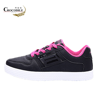 Crocodile Original New Women Skateboarding Shoes Lady Light Training Sport Shoes Sneakers Breathable Femme Flat Athletic Shoes