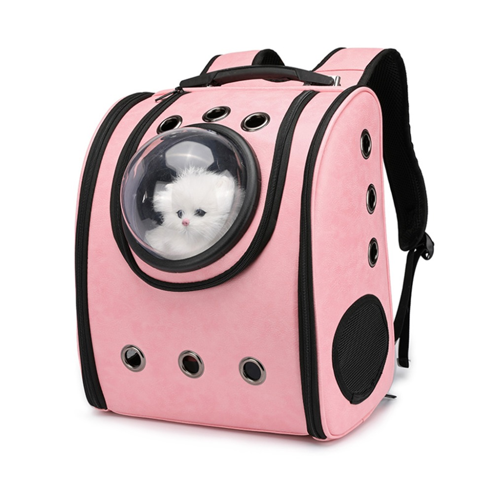THINKTHENDO Astronaut Capsule Breathable Pet Cat Puppy Travel Bag Space Backpack Carrier Bags Pet Bag in Backpacks from Luggage Bags