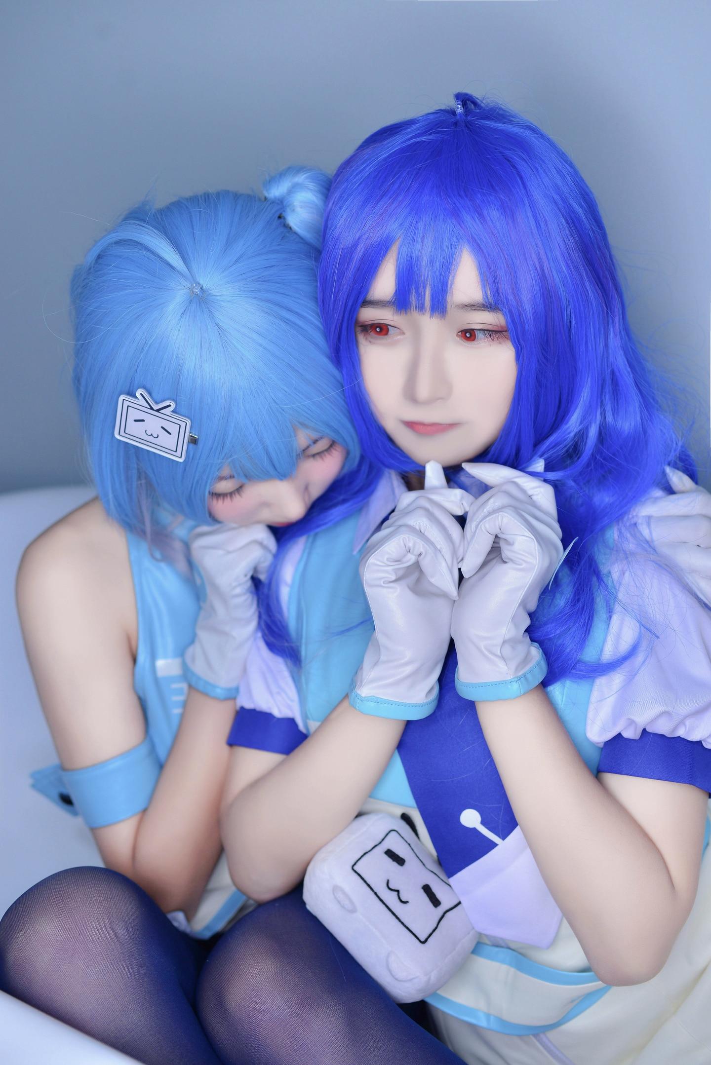 哔哩哔哩2233娘cosplay