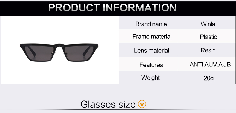 HTB1YPewcb I8KJjy1Xaq6zsxpXa9 - Winla Fashion Design Women Sun Glasses Flat Top Sunglasses Square Frame Classic Shades Vintage Eyewear Oculos de sol WL1145