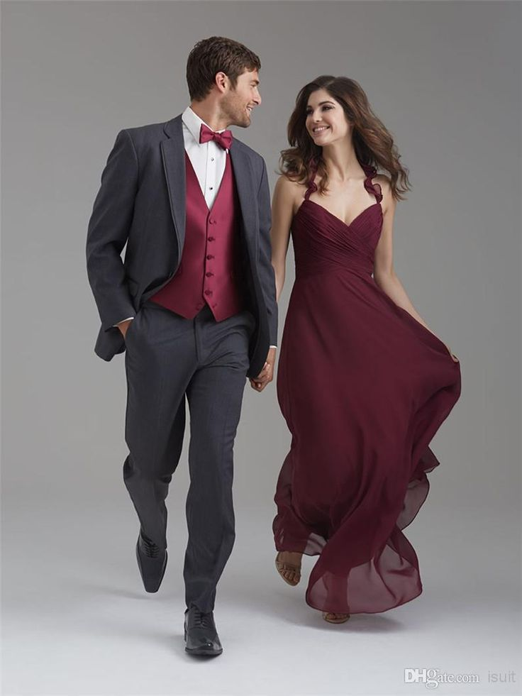 Latest Coat Pant Designs Grey Men Suit Prom Tuxedo Slim Fit 3 Piece ...