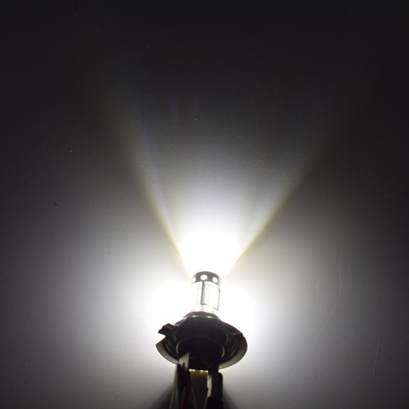 2PCS Automotive LED Fog Light Bulbs H7 80W Fog Tail Driving Car Head Light Lamp Bulb Super Bright 9V-30V.07