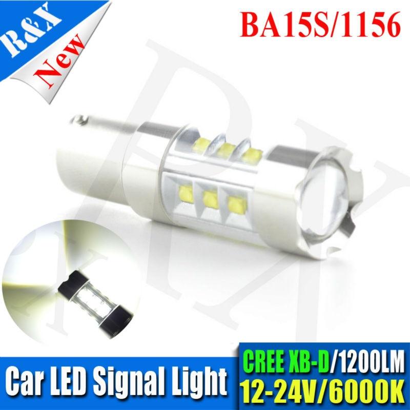 1pcs 100W Super Bright 20SMD 12v 24v Ba15s 1156 P21W LED Car Truck Tail Backup Reverse
