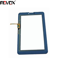 RLGVQDX NEW Touch Screen Digitizer For Huawei Mediapad 7 Vogue S7-601C S7-601U S7-602U Black White Front Glass Replacement