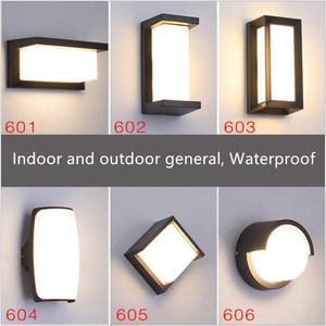 Image 5 - Hot style European wall lamp outdoor waterproof corridor lamp led wall lamp balcony outdoor lamp patio outside wall garden lamp