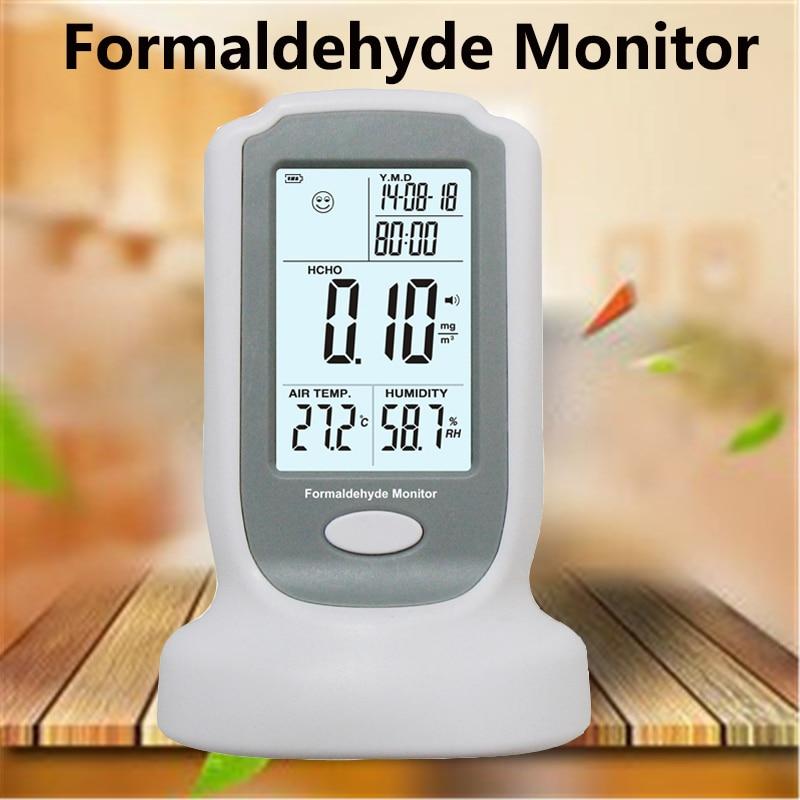 Formaldehyde Tester 0-3mg Home Air Quality Detector fog and haze TVOC benzene PM2.5 PM10 Gas analyzer tester