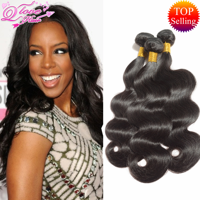 8a Brazilian Body Wave 3/4 PCS Queen Love Hair Brazilian Virgin Hair Body Wave brazilian hair weave bundles Human Hair Bundles