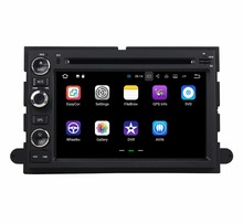 Quad Core 2 din 7″ Android 7.1 Car DVD Player for Ford Fusion Explorer F150 Edge Expedition 2GB RAM Radio GPS Bluetooth 16GB ROM