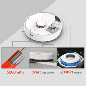 Image 4 - Roborock S50 S55 Tiểu Mi Hút 2 Cho Việc Quét Nhà Ướt Lau Robot Hút Bụi Thông Minh Mi Robot Không Dây ứng Dụng Điều Khiển