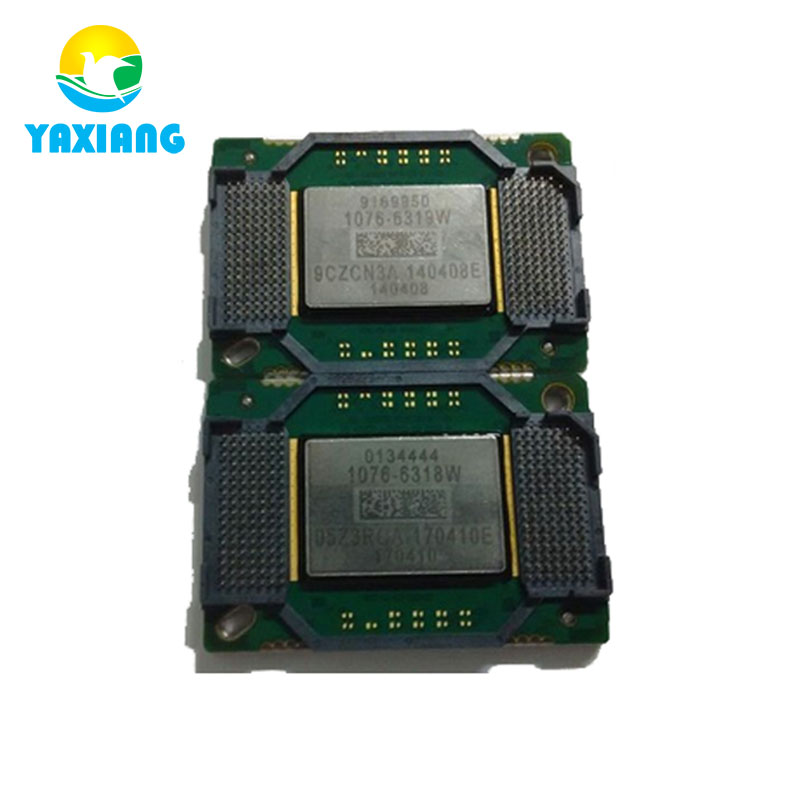dmd chip 1076 6329w 1076 6328w for mitsubishi md360x Projector chip Projector DMD chip 1076-6318W 1076-6319W 1076-6328W 1076-6329W 1076-632AW 1076-631AW big DMD chip for projectors