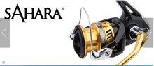 100% Original 2017 NEW MODEL SHIMANO SAHARA FI 1000 C2000S 2500 C3000HG 4000XG 5000XG Gear ratio 5.0:1/6.2:1spining fishing reel