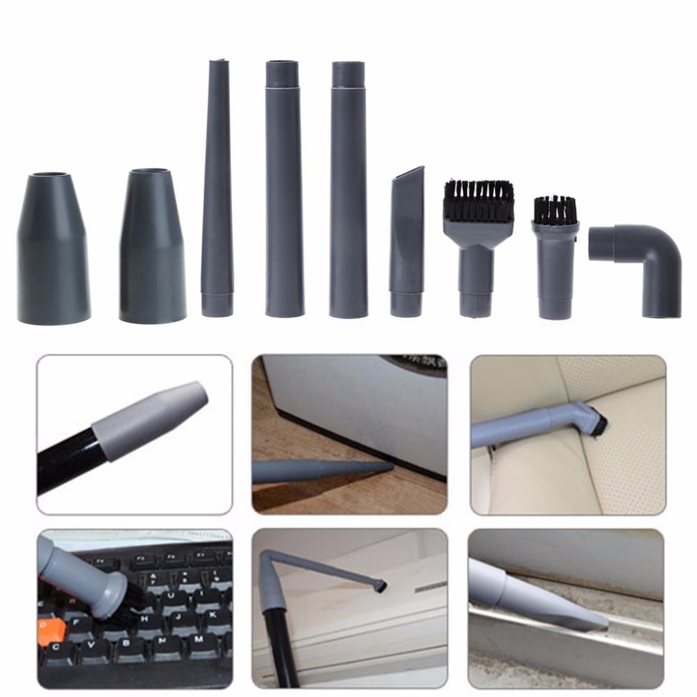 SKYMEN 9 pièces/ensemble universel aspirateur accessoires multifonctionnel coin brosse ensemble buse en plastique