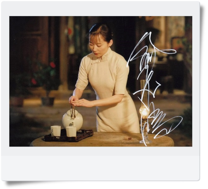 signed Faye Yu autographed photo 7 inches hot actress  free shipping 082017 signed wolf warriors celina jade autographed original photo 7 inches 7 versions free shipping 082017