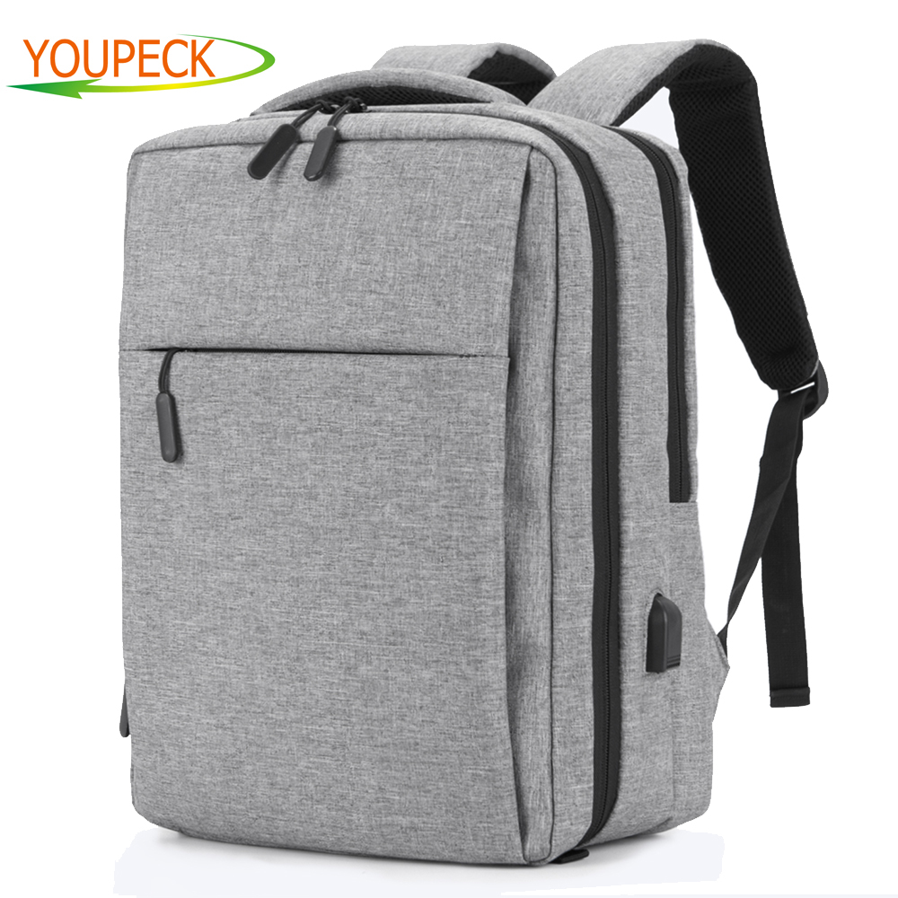 15 6 17 3 USB Charge Backpacks Anti Theft font b Laptop b font Backpack Business