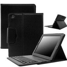 Чехол для клавиатуры Bluetooth для нового iPad 9,7 Air 2 Air 1 кожаный чехол-подставка для планшета с беспроводной клавиатурой для iPad Pro 9,7