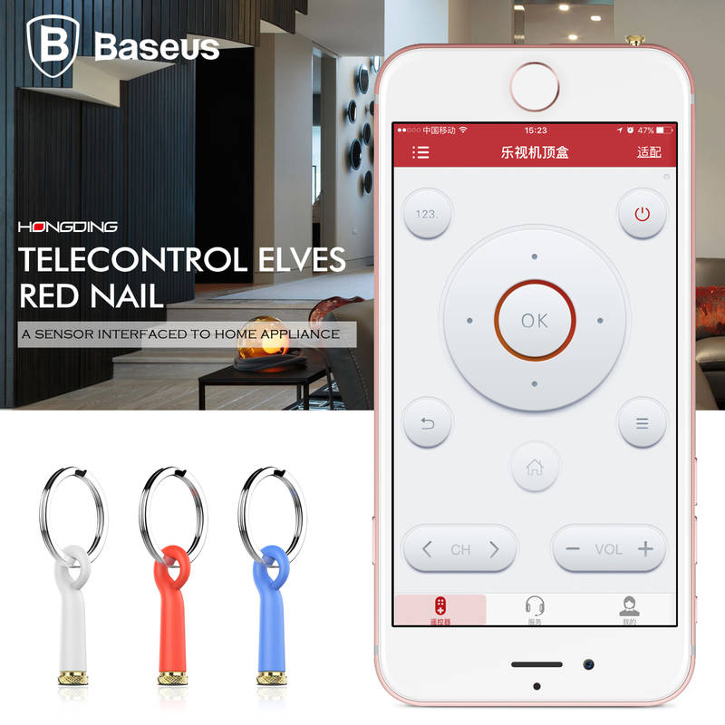 Baseus Smart IR Remote Control 3 5mm Jack Mobile Phone IR