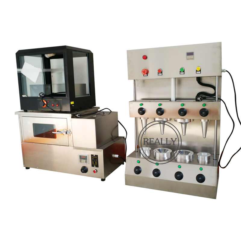 Manufacturer Prices RE-PC4 Cone Pizza Machine Iran Pizza Cone Pizza Maker