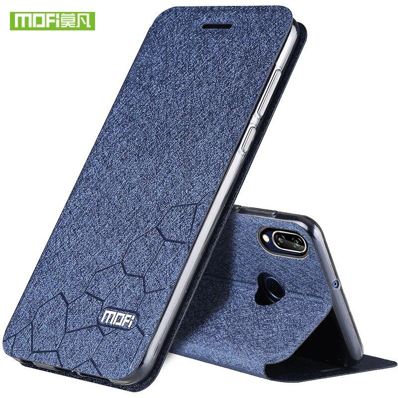 MOFi pour Huawei P20 Lite cas couverture pour Huawei nova 3e cas PU en cuir P20lite pleine couverture de protection pour Huawei P20 Lite cas