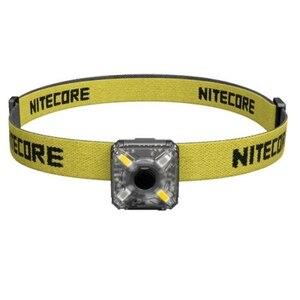 Image 5 - Linterna frontal NITECORE, recargable por USB, NU05, KIT de 35 lúmenes, luz blanca/roja, alto rendimiento, 4 leds, ligero, portátil
