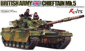Модель RealTS Тамия 1/35, масштаб, военные модели #35068, британский вождь, Mk.5 Tank