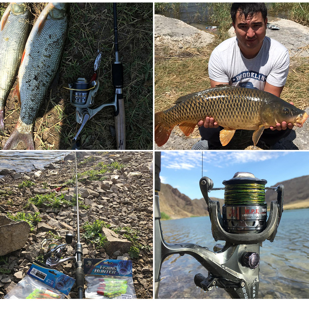 de carbono carpa equipamento de pesca