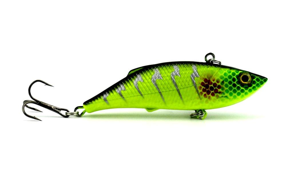 6 copë 8cm-11.8g Peshkim i fortë plastike VIB Lures Tingëllim - Peshkimi - Foto 2