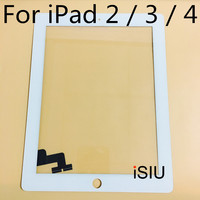 ISIU Touch Panel For IPad 2 IPad 3 IPad 4 Touch Screen Tab Touch Glass Digitizer
