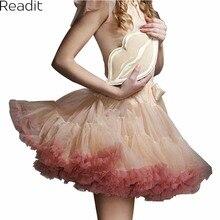 Sexy Micro Skater Mini Skirts Tulle Skirt Party Dance Tutu Skirt Women Lolita Petticoat Womens Faldas Saia jupe courte S1791