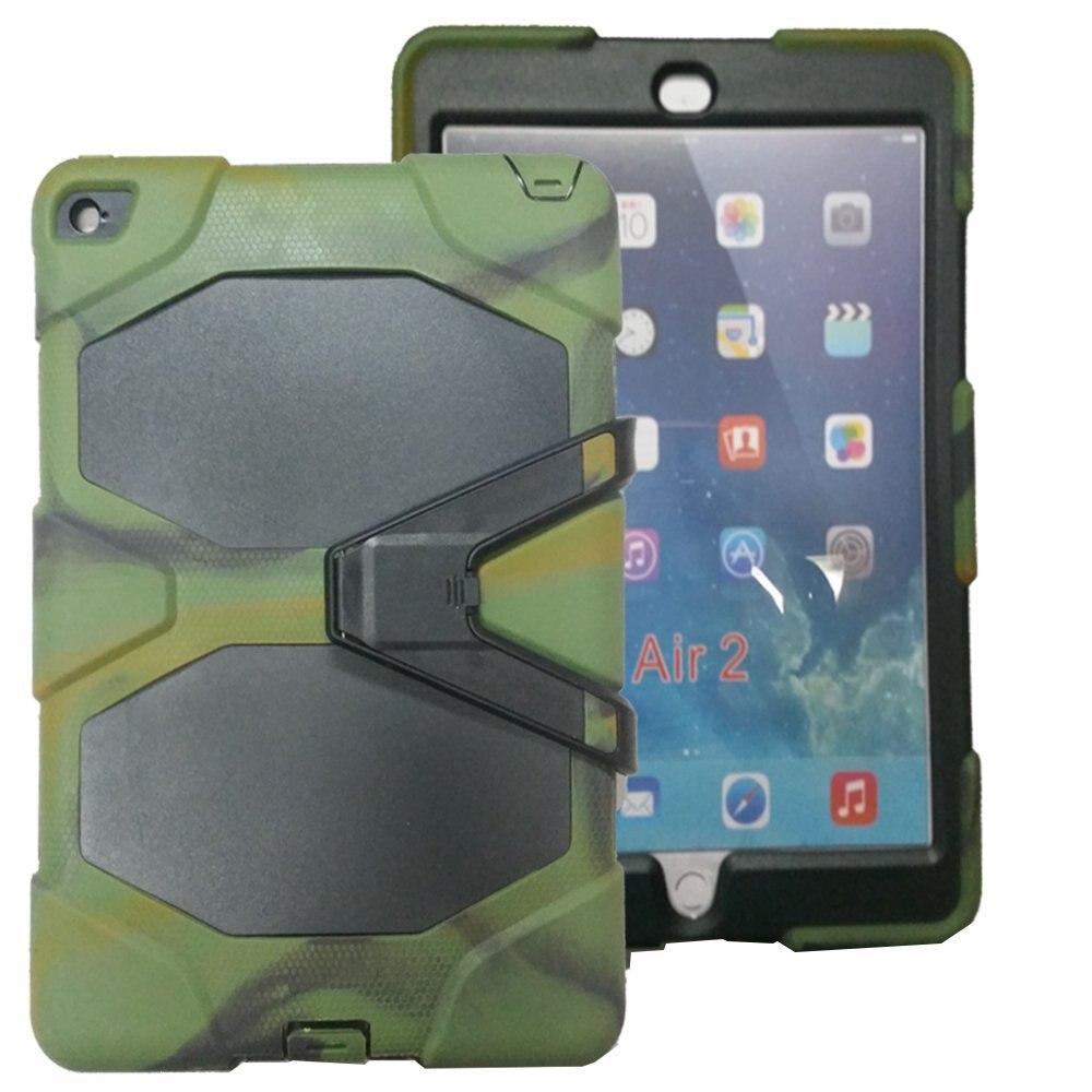 [Тяжелых] 3in1 Гибридный Прочный ударопрочный полный тело защитный Подставки чехол для Apple iPad мини 1/2/3
