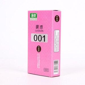 10PCS Adults Condoms Ultra Thin 001 Condoms Ultra Large Oil Condoms Erotic Condoms Couples Intimate Goods Adults Sex Toys