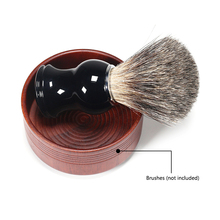 Shave Cream Soap Cup Bowl Men Shaving Bowl Anti-Adhering Shaving Brush Face Cleaning Tools clarins men smooth shave