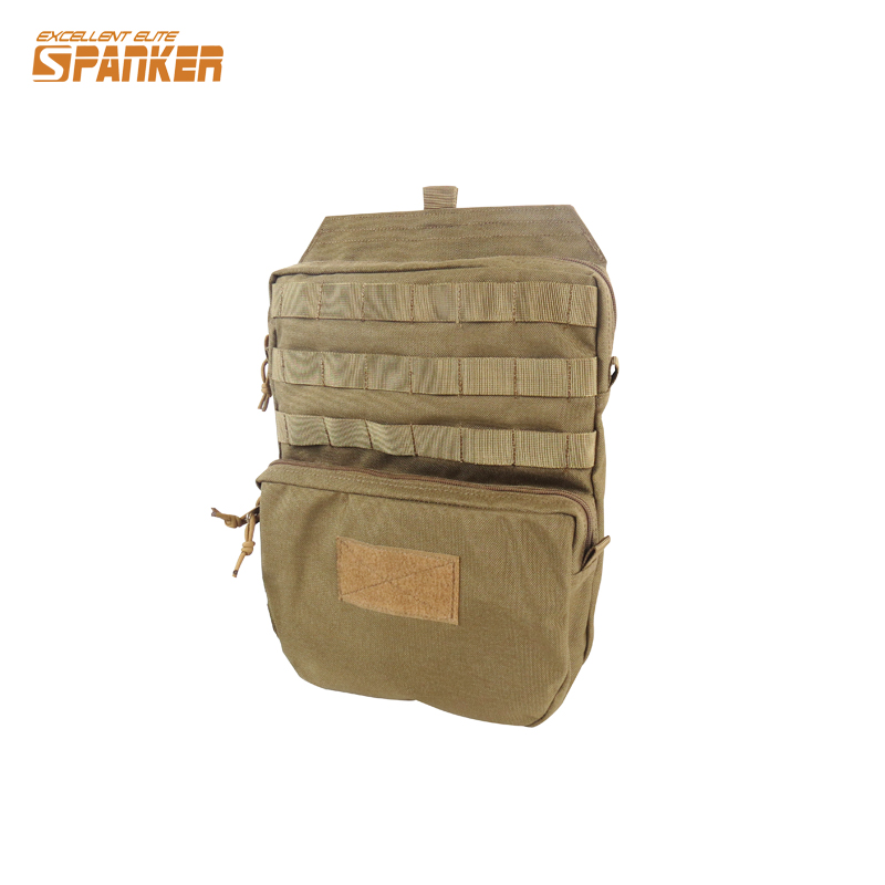 Military Tactical Molle Hydration Bladder Carrier Pack Load Bearing Backpack Airsoft Paintball...