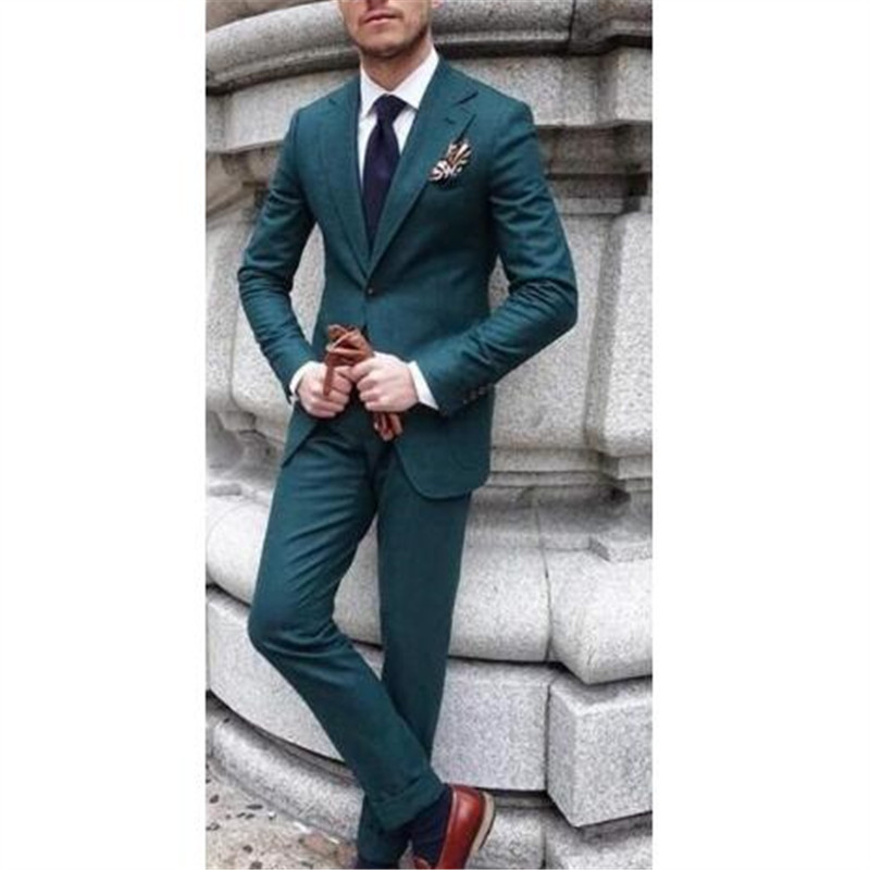 Yellow Terno Tuxdeo Men Suits For Wedding 2Pieces(Jacket+Pant+Tie) Fashion Costume Homme Terno Masculino Men Groom Blazer 462
