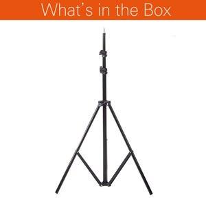 Image 2 - Светильник Godox Ajustable 302, 2 м, стойка с резьбой 1/4, штатив для студийной фотосъемки, светильник для видеосъемки, 200 см