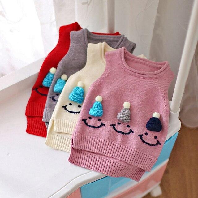 Baby Mädchen Pullover Weste 2017 Herbst Winter Kinder Kleidung Rot ...