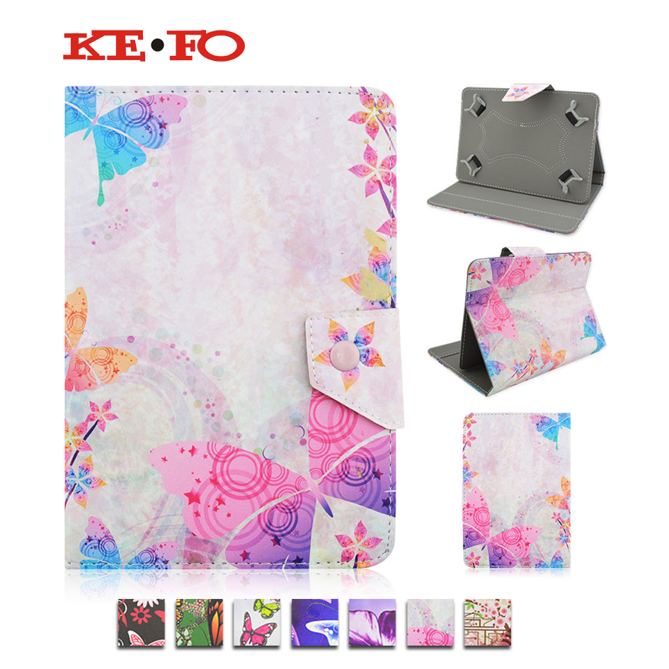 Stand PU Leather Cover Case For Prestigio MultiPad PMP810TD 3G 10.1 inch Universal 10 inch Tablet +Center Film+pen KF492A slim print case for acer iconia tab 10 a3 a40 one 10 b3 a30 10 1 inch tablet pu leather case folding stand cover screen film pen