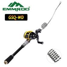 Emmrod Lengthened portable lure fishing rod set fishing Ocean boat/Raft fishing rod  Telescopic Fishing Rod GSQ-WD