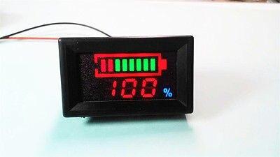 12 В цифровой светодиодный свинцово-кислотная Аккумуляторы индикатор Батарея Ёмкость Тестер Вольтметр