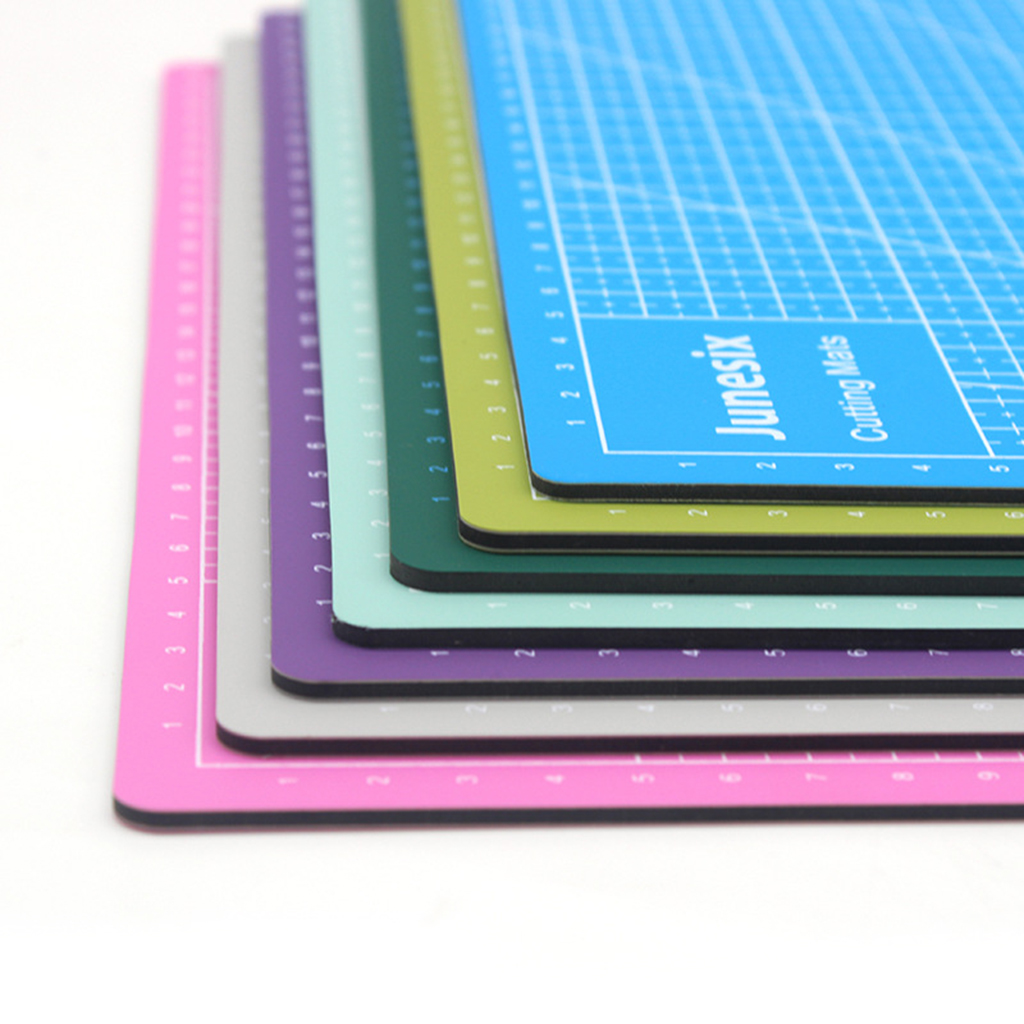Multi-Purpose Model Cutting Pad Cutting Paper Cutting Board Rubber Stamp Engraving Mat Measuring Scale Board  For Study Office