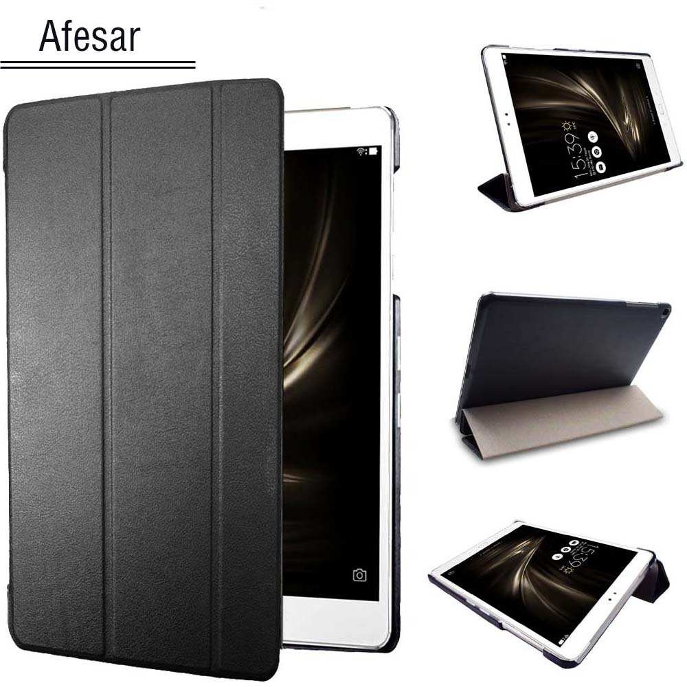 все цены на  Ultraslim leather Cover for ASUS ZenPad 3S 10 Z500M (9.7-inch) Flip Case - Stand Book Cover Folio Case for ZenPad 3S 10 tablet  онлайн